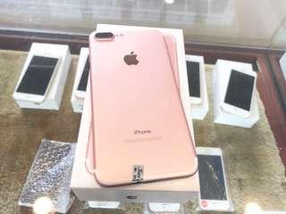 全新品 iPhone 7 Plus 32G 玫瑰金 高價收購手機