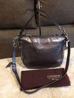 Authentic Coach Two Way Bag with Dustbag