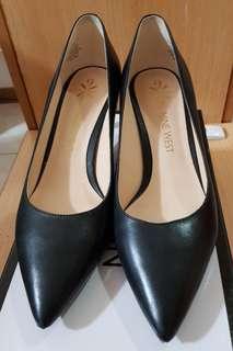 NINE WEST 黑色跟鞋 OL跟鞋