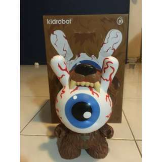 Kidrobot - Bad News Dunny 8-inch Kodiak Ed. by Mishka (Original 100%)