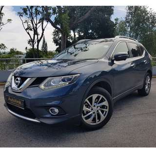 Nissan X-Trial 2.0 CVT 4WD 7 Seater For Lease.