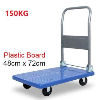 Heavy Duty Trolley - Blue plastic Board