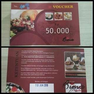 Voucher Bima Restaurant, Manyar, Surabaya