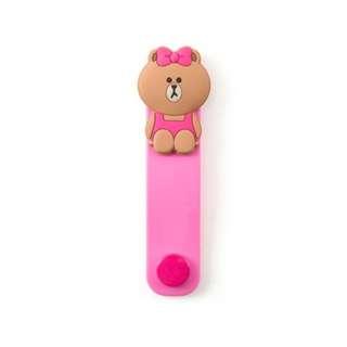 Brown女仔熊繞線器(包本地平郵)