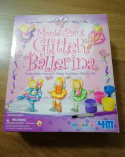 4M - Mould & Paint Glitter Ballerina