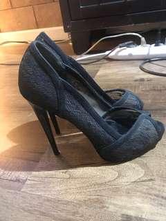 Aldo lace high heels