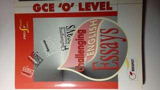 O LEVEL ENGLISH CHALLENGING ESSAYS