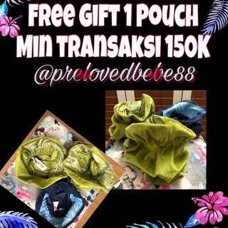 Free Gift Pouch Bludru