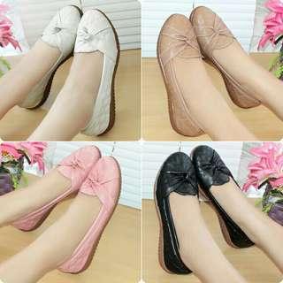 sepatu wanita bahan kulit