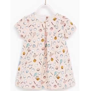 ZARA Baby Girl Jacquard Dress