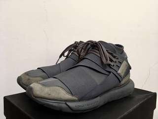 (拋售)Y3 qasa high vista grey 灰 rick owens raf simons
