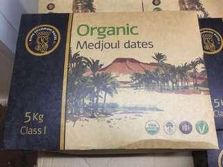 有機椰棗organic medjoul date