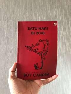 Boy chandra-suatu hari di 2018