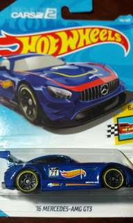 2018 Hot Wheels '16 Mercedes-AMG GT3