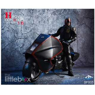 1/6 Scale Heavy armored locomotive SF-003 Judge Dredd Motorcycle The Law