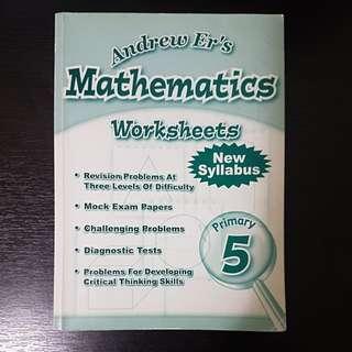 P5 - Andrew Er's Maths Worksheets