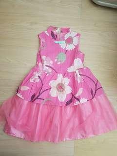 Pink Cheongsam Dreas