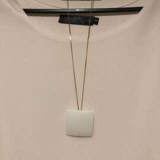 Geometric necklaces (set of 3)
