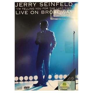 DVD - JERRY SEINFELD LIVE ON BROADWAY (ORIGINAL USA IMPORT CODE 1)