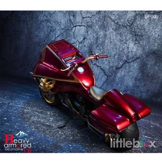 [RED] 1/6 Scale Heavy armored locomotive Judge Dredd Lawmaster Motorcycle