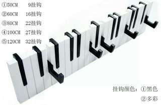 🚚 鋼琴鍵盤壁掛(黑白/彩色)