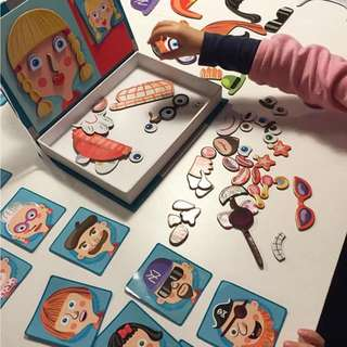 **Let's celebrate offer ** Kid's Puzzle Magnetic Book