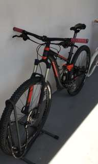 Trek fuel ex 6 2014 full suspension mountain bike