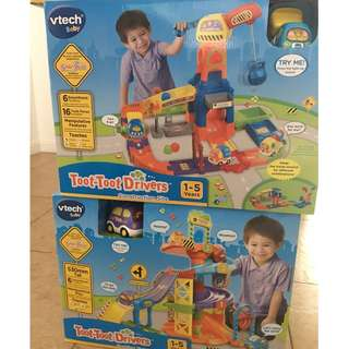 Vtech Toot Toot Drivers (Construction Site & Parking Tower)
