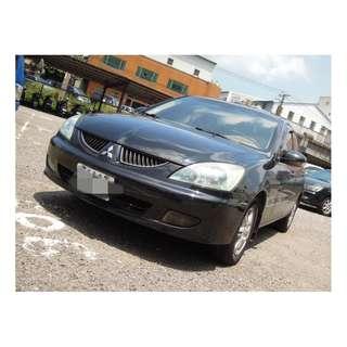 2005年LANCER 黑色米內裝 二手車中古車