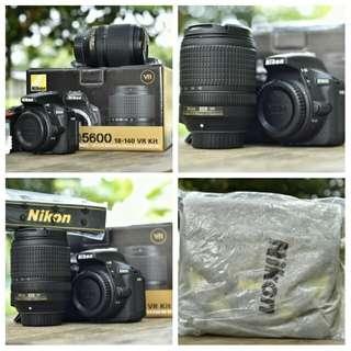 Nikon D5600 +18-140mm lens. BRAND NEW MALAYSIA SET