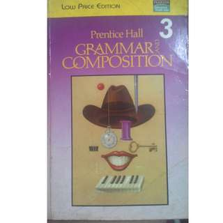 Prentice Hall Grammar and Composition 3