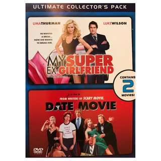 DVD DOUBLE FEATURE COLLECTION - MY SUPER EX-GIRLFRIEND & DATE MOVIE (UNRATED)