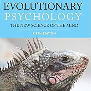 Evolutionary Psychology - 5th edition - Buss