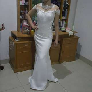 wedding dress / Gown