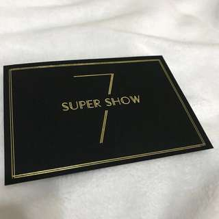 🚚 SUPER JUNIOR SUPER SHOW 7 in TAIPEI 邀請卡