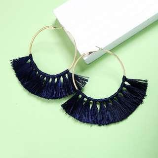 LEANNE tassels earrings