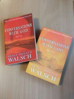 Neale Donald Walsh Conversations with God An Uncommon Dialogue Book 2 & 3
