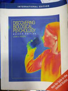 Discovering Biological Psychology 2nd Ed.