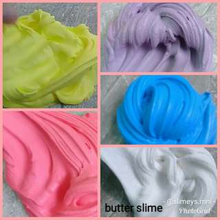 Butter Slime with FREE Borax