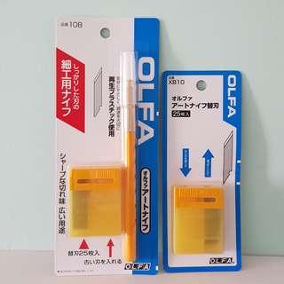 Olfa Art Knife and Knife Refill