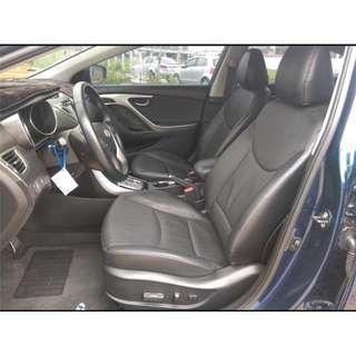 2013年 ELANTRA 藍色沒包沒電視 二手車中古車