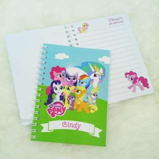 Custom Small Notebook for Kids Birthday Party Favor