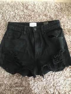 ABRAND a salty high waisted shorts