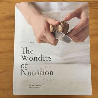 The Wonders of Nutrition & Roadmap to Recovery