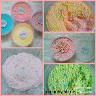 Crunchy Slime with FREE Borax