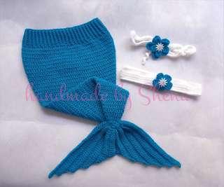Crochet Mermaid Tail (Onhand)
