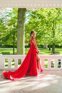 Red Promm Dress