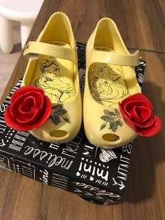 Mini Melissa Shoes Beauty and the Beast