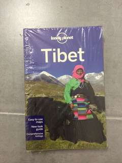 Travel book Lonely Planet Tibet