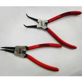 5 inch 45 Degree Angled Out/External Circlip Plier